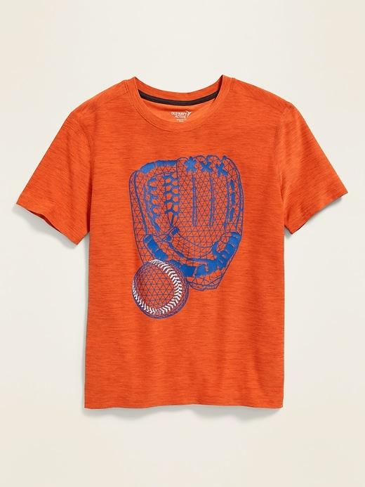 T-shirt Go-Dry Breathe ON à imprimé pour garçon