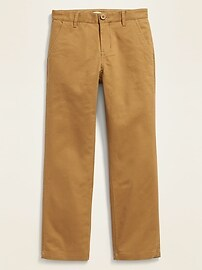 Straight Built-In Flex Uniform Pants for Boys