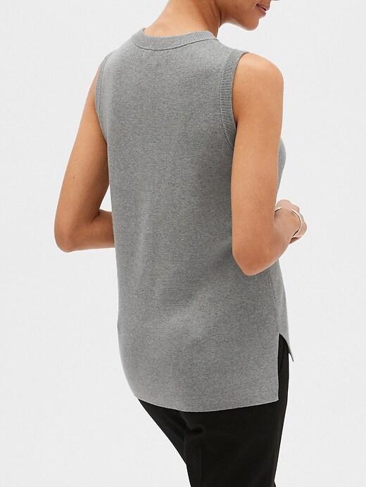 Pointelle Crew-Neck Sweater