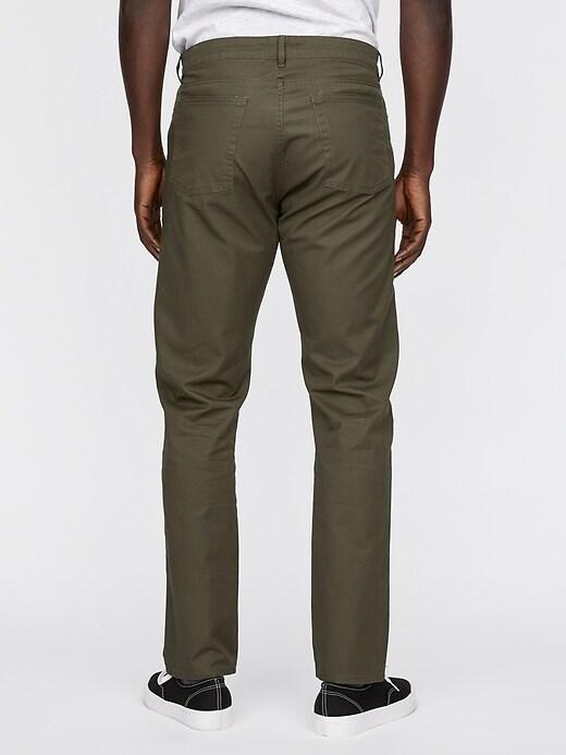 Twill 5 Pocket Pant in Slim Fit