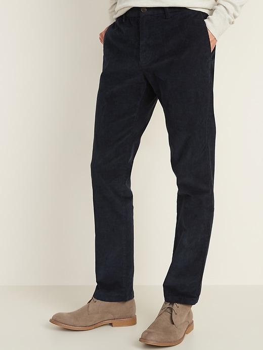 Slim Built-In Flex Ultimate Corduroy Pants for Men