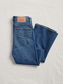 '70s Pioneer High Rise Flare Jeans