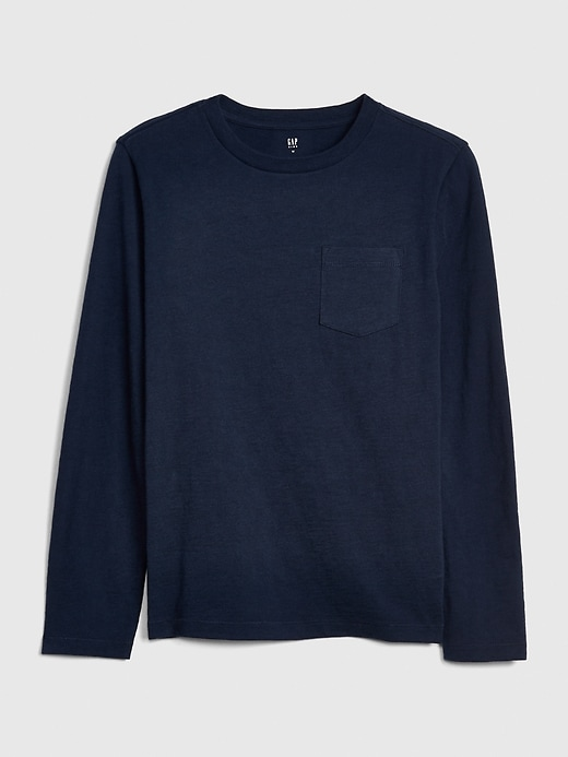 Kids Pocket Long Sleeve T-Shirt