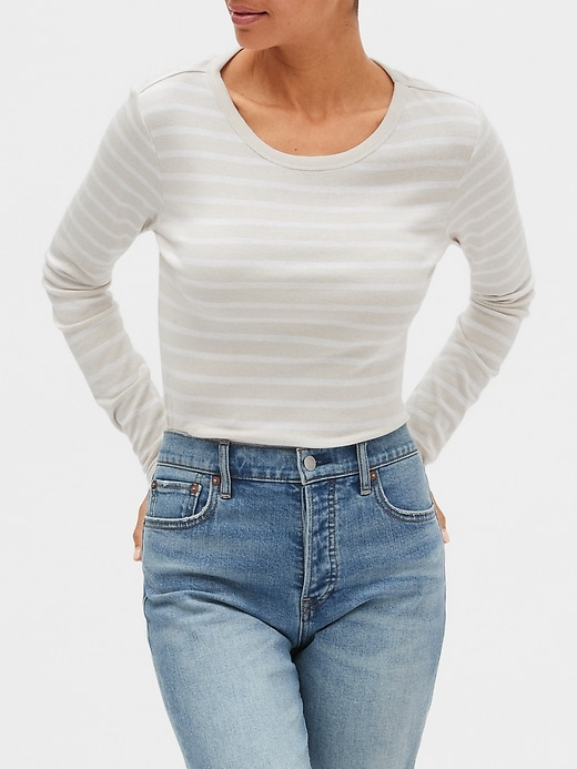 Favorite Stripe Long Sleeve T-Shirt