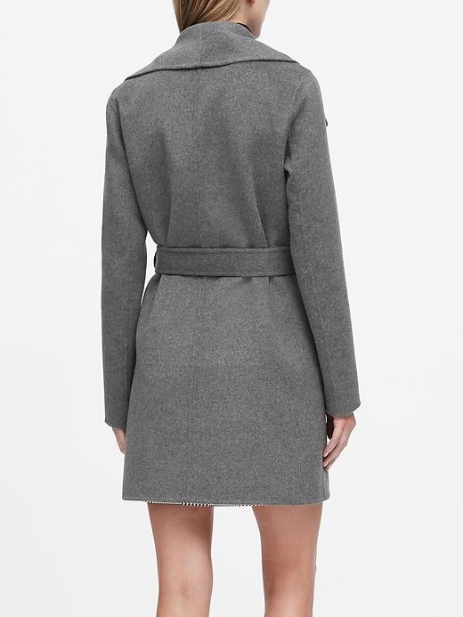 Double-Faced Wrap Coat