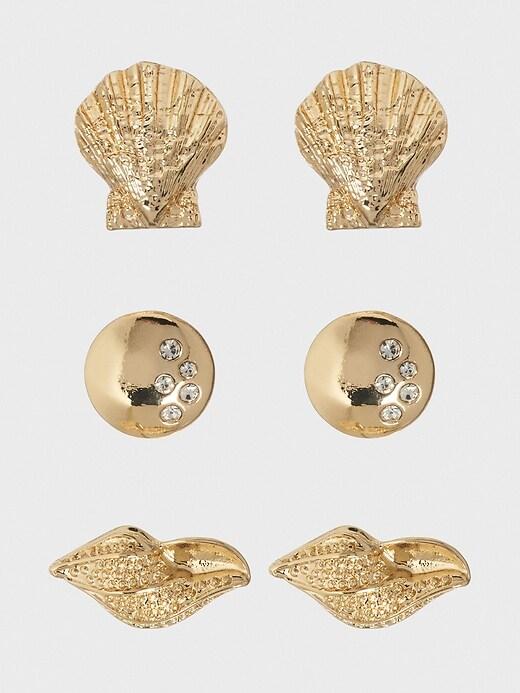 Shell Earrings (3 Pack)