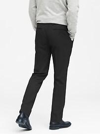 Pantalon en laine, coupe étroite