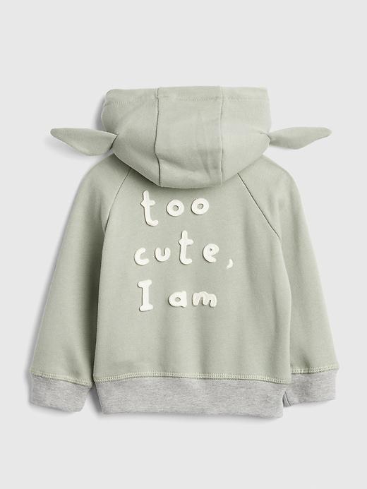 babyGap &#124 Star Wars&#153 Yoda Hoodie Sweatshirt
