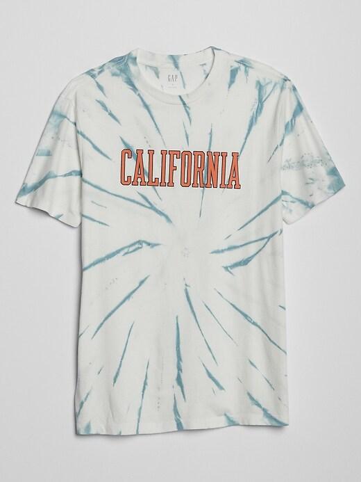Graphic Tie-Dye Short Sleeve T-Shirt