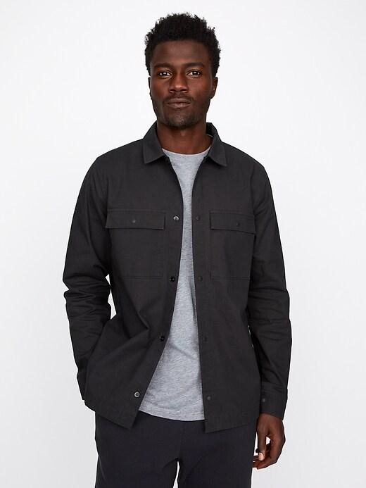 Hybrid Ripstop Shirt Jacket