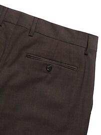 Slim Italian Wool Suit Pant