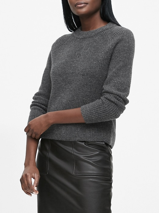 Aire Cropped Sweater