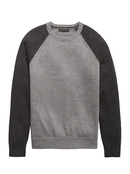 Organic Cotton Raglan Sweater
