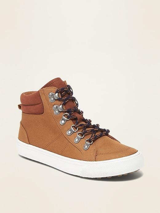 Nylon Hybrid Hiker Boots for Boys