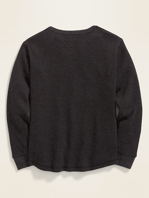 Graphic Crew-Neck Thermal Tee for Boys