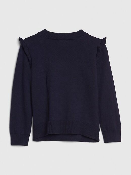 Toddler Unicorn Intarsia Sweater