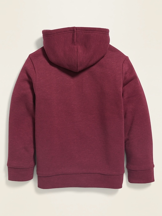 Sherpa-Lined Zip Hoodie for Boys
