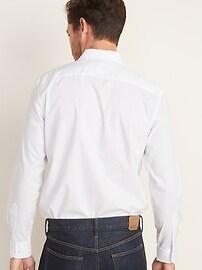 Chemise extensible sans repassage coupe cintrée pour homme