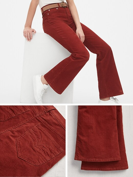 '70s Pioneer High Rise Flare Cords