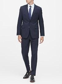 Standard Solid Italian Wool Suit Pant