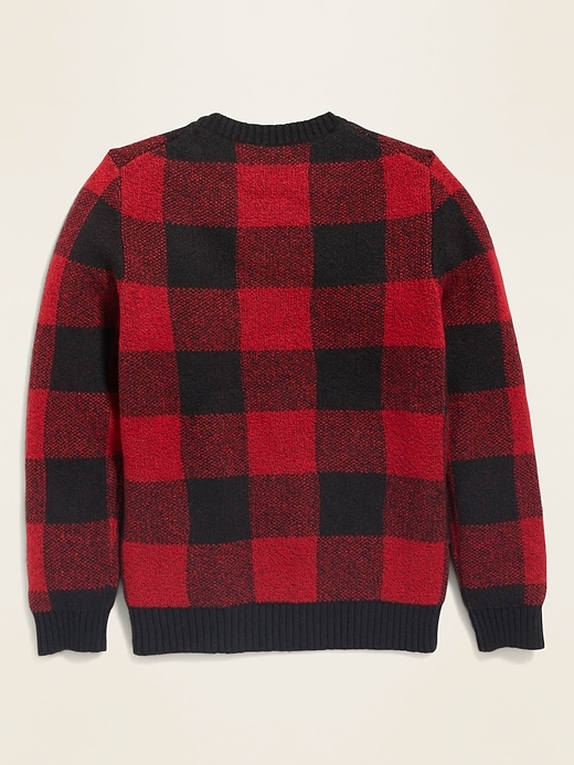 Crew-Neck Sweater for Boys