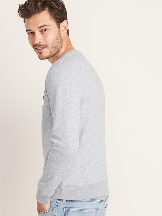 Logo-Graphic Crew-Neck Sweatshirt for Men