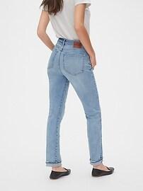 High Rise Selvedge Cigarette Jeans