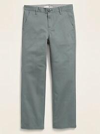 Uniform Straight Built-In Flex Khakis for Boys