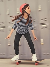 Athleta Girl Home Stretch Stripe Top