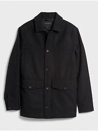 Wool Saddle Coat