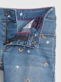 Kids Rainbow Midi Shorts