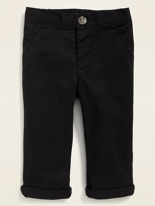 Built-In Flex Twill Pull-On Pants for Baby