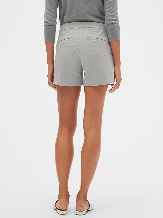 Sailor Corded Stripe Shorts - 4 inch inseam
