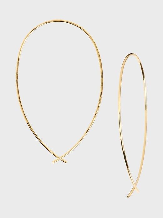 Infinity Hoop Earrings