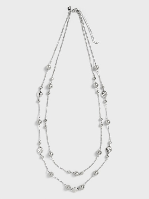 Pearl Stationed Necklace