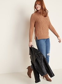 Textured Crew-Neck Sweater for Women
