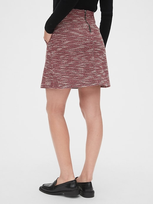 Tweed Mini Skirt