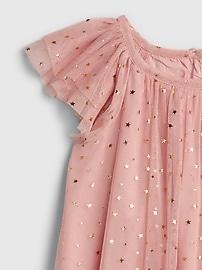 Toddler Tulle Star Flutter Dress