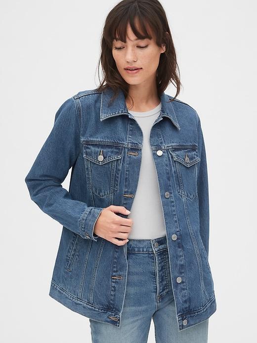 Oversized Icon Denim Jacket