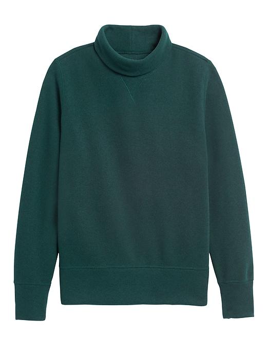 Polartec® Sweater Fleece Turtleneck Sweatshirt