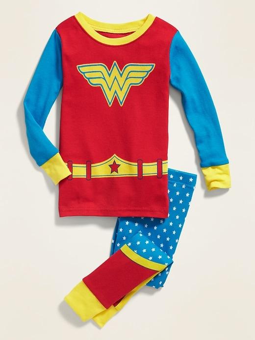 Dc Comics&#153 Wonder Woman Costume Pajama Set for Toddler Girls & Baby