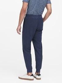 Pantalon d'entraînement en tricot gaufré isotherme