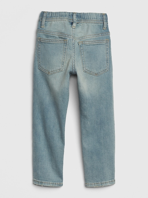 Toddler Dino Pull-On Slim Jeans with Stretch
