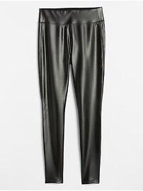 Faux-Leather Leggings