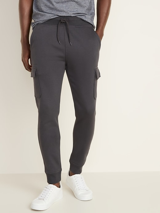 Tapered Cargo Joggers for Men