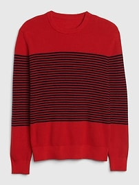 Breton Stripe Crewneck Sweater