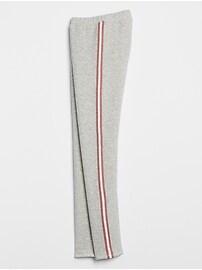 Kids Sherpa-Lined Side-Stripe Leggings