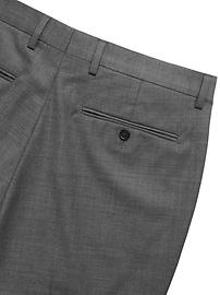 Slim Italian Sharkskin Suit Pant