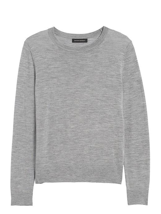 Washable Merino Crew-Neck Sweater