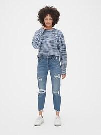 Marled Textured Raglan Sweater